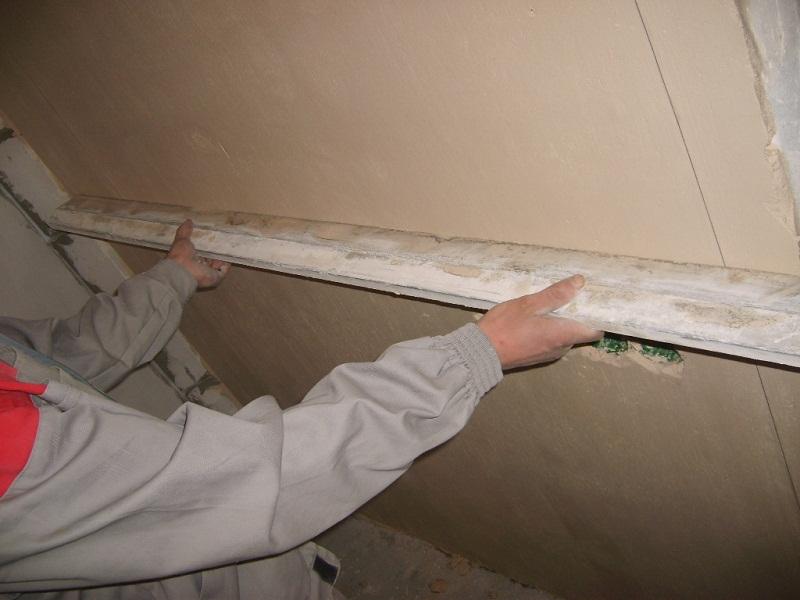 подготовка стены для оштукатуривания цементным раствором