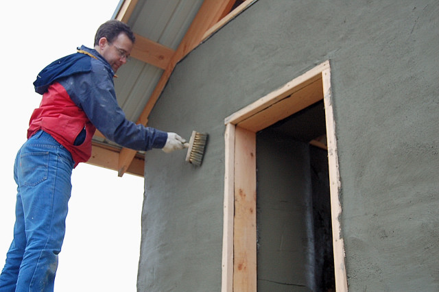 Перлитовая штукатурка для фасадных работ своими руками 57