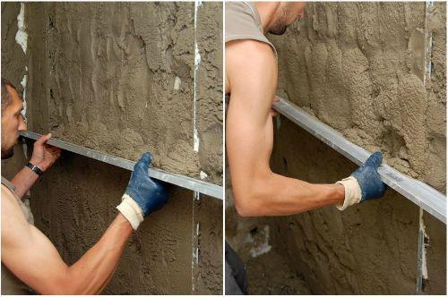 Штукатурить стены своими руками цементным раствором