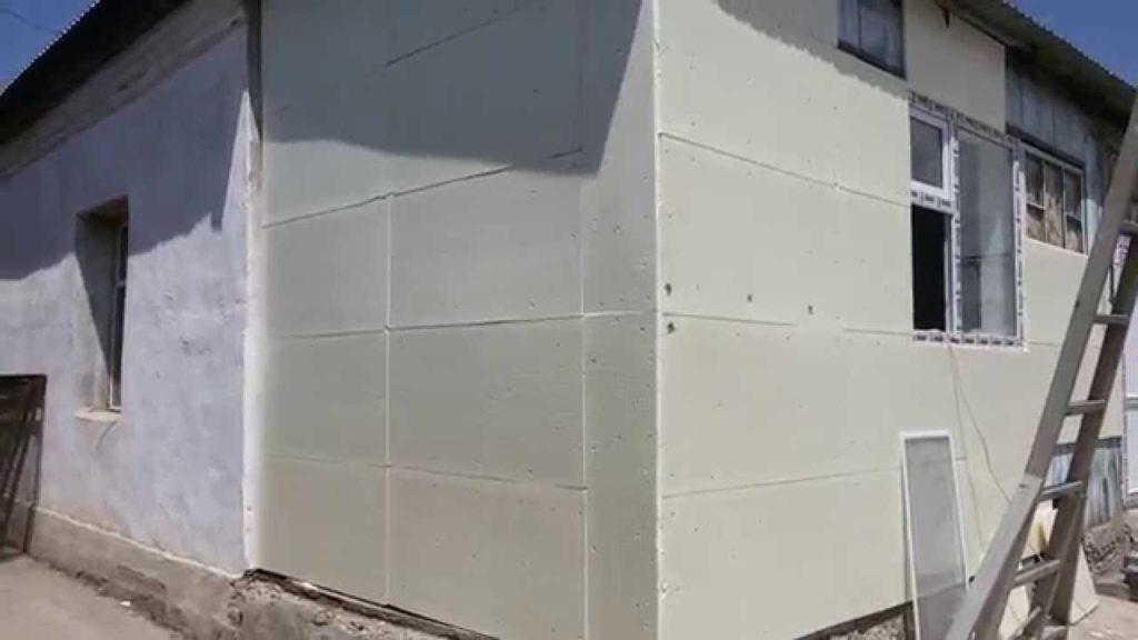 Утепление фасадов цена за работу харьков