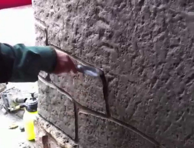 штукатурка фундамента цементным раствором