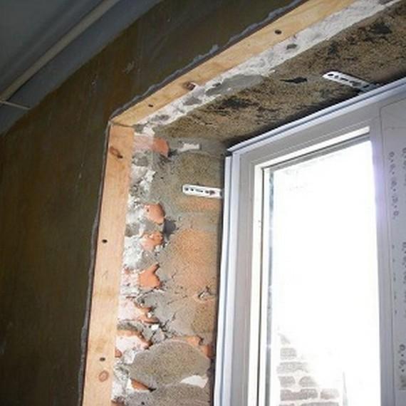 Дверные откосы своими руками штукатурка 118