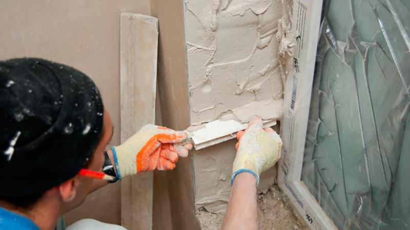 Штукатурка оконных проемов своими руками цементным раствором научиться штукатурить цементным раствором