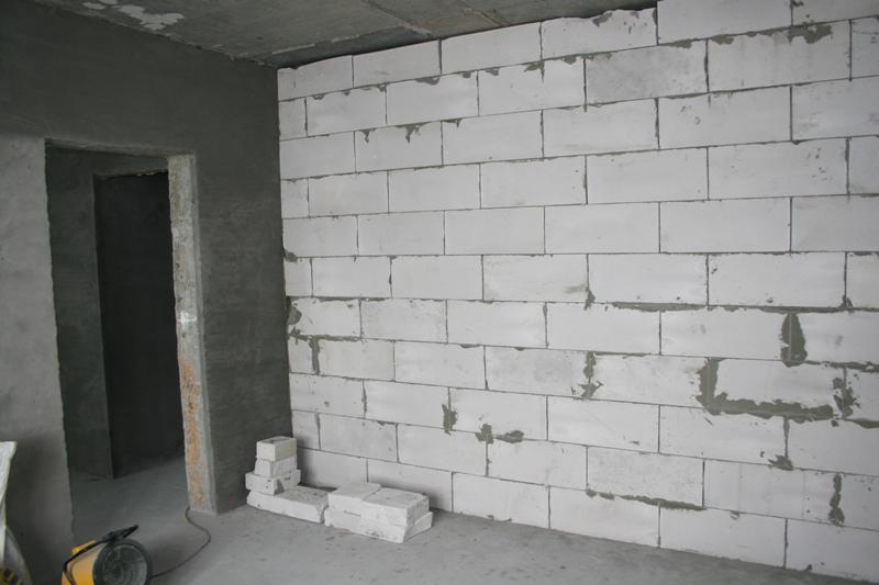 Отделка фасада домов из пеноблоков