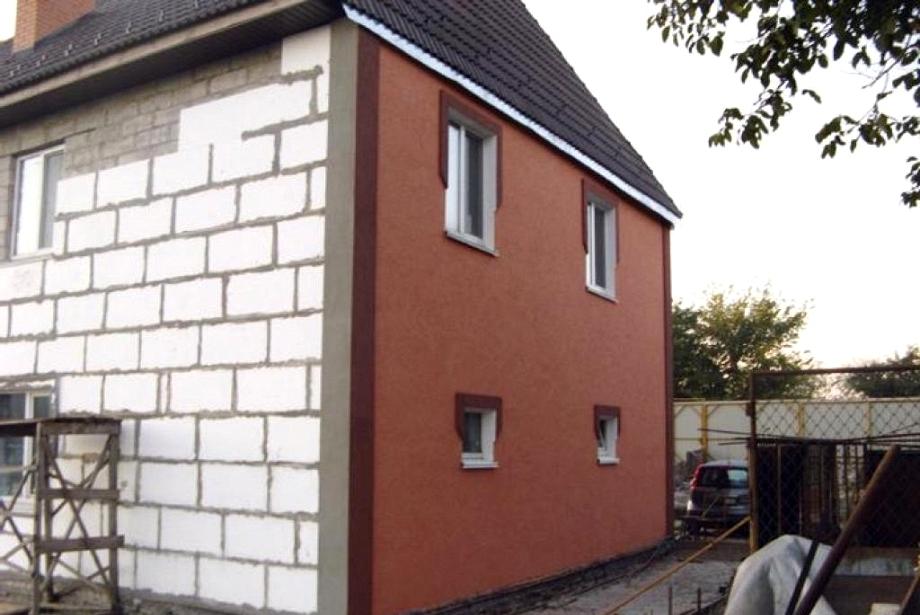 Покраска деревянных фасадов домов цена