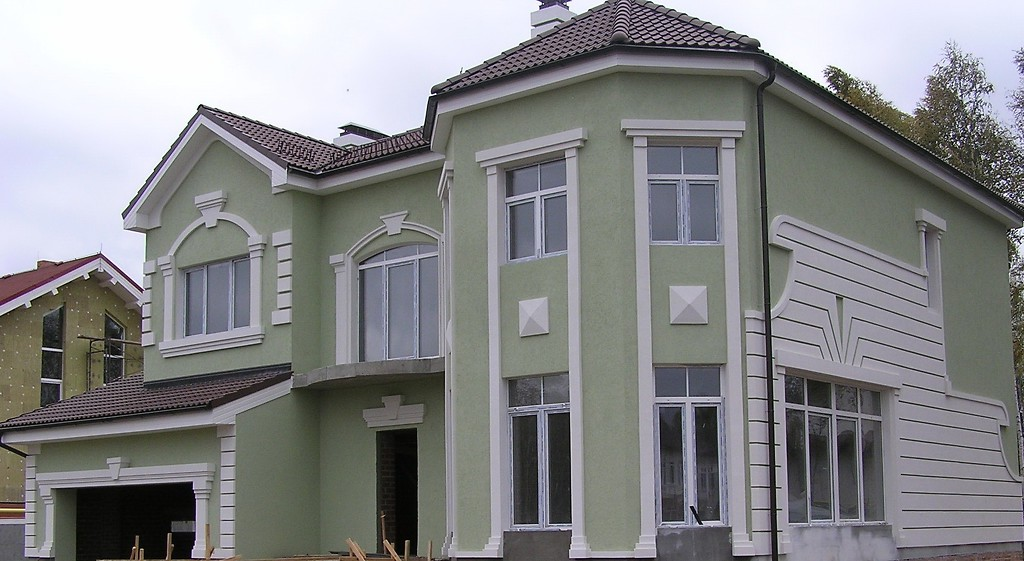 Облицовка фасадов сайдингом с утеплением