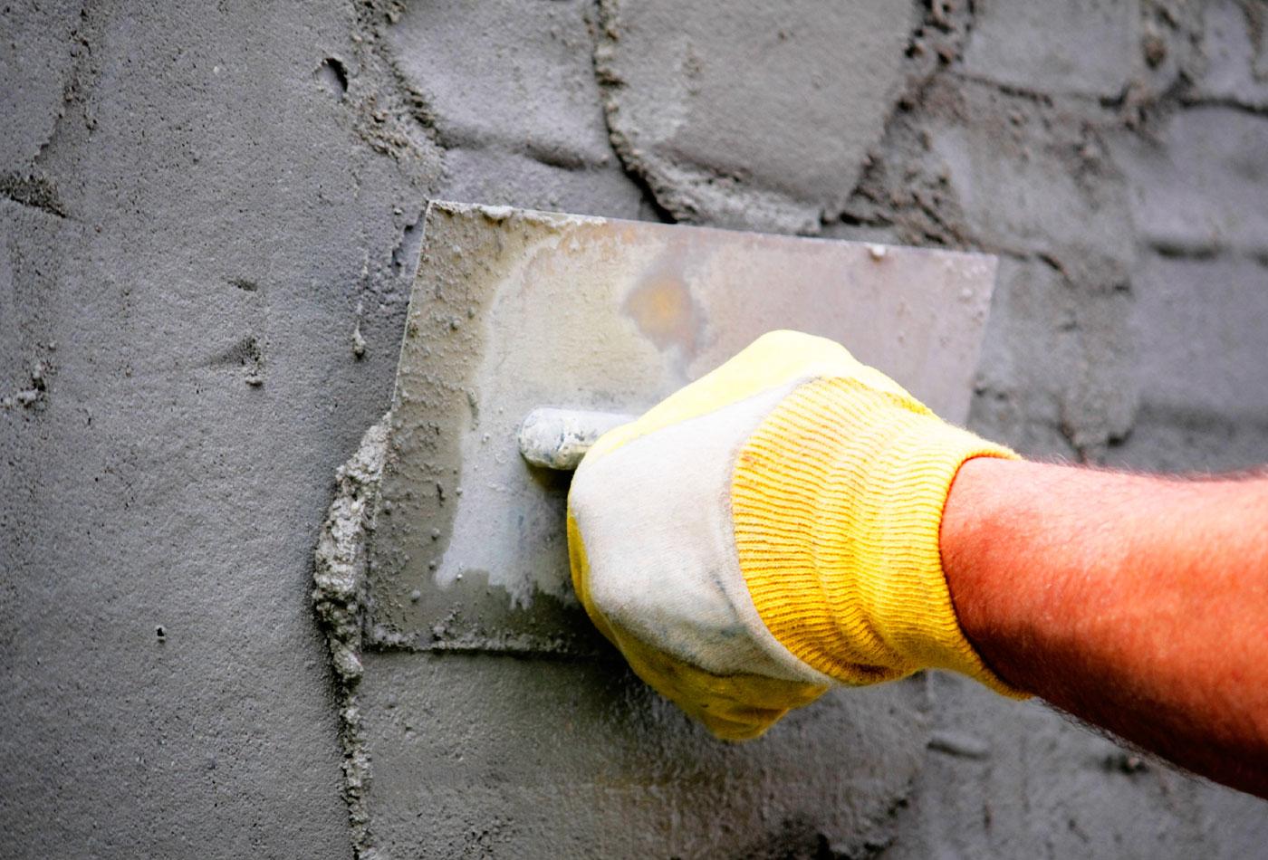 Штукатурка стен цементной штукатуркой своими руками видео