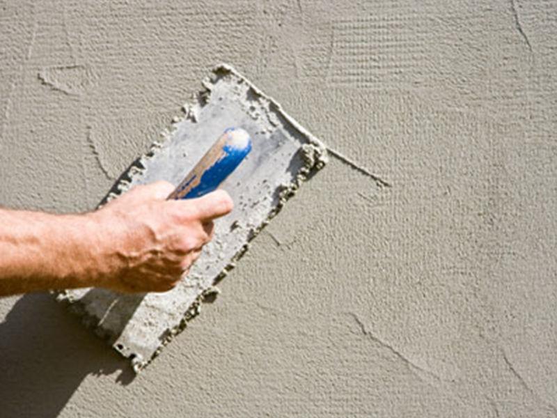 Штукатурка цементная стен 7