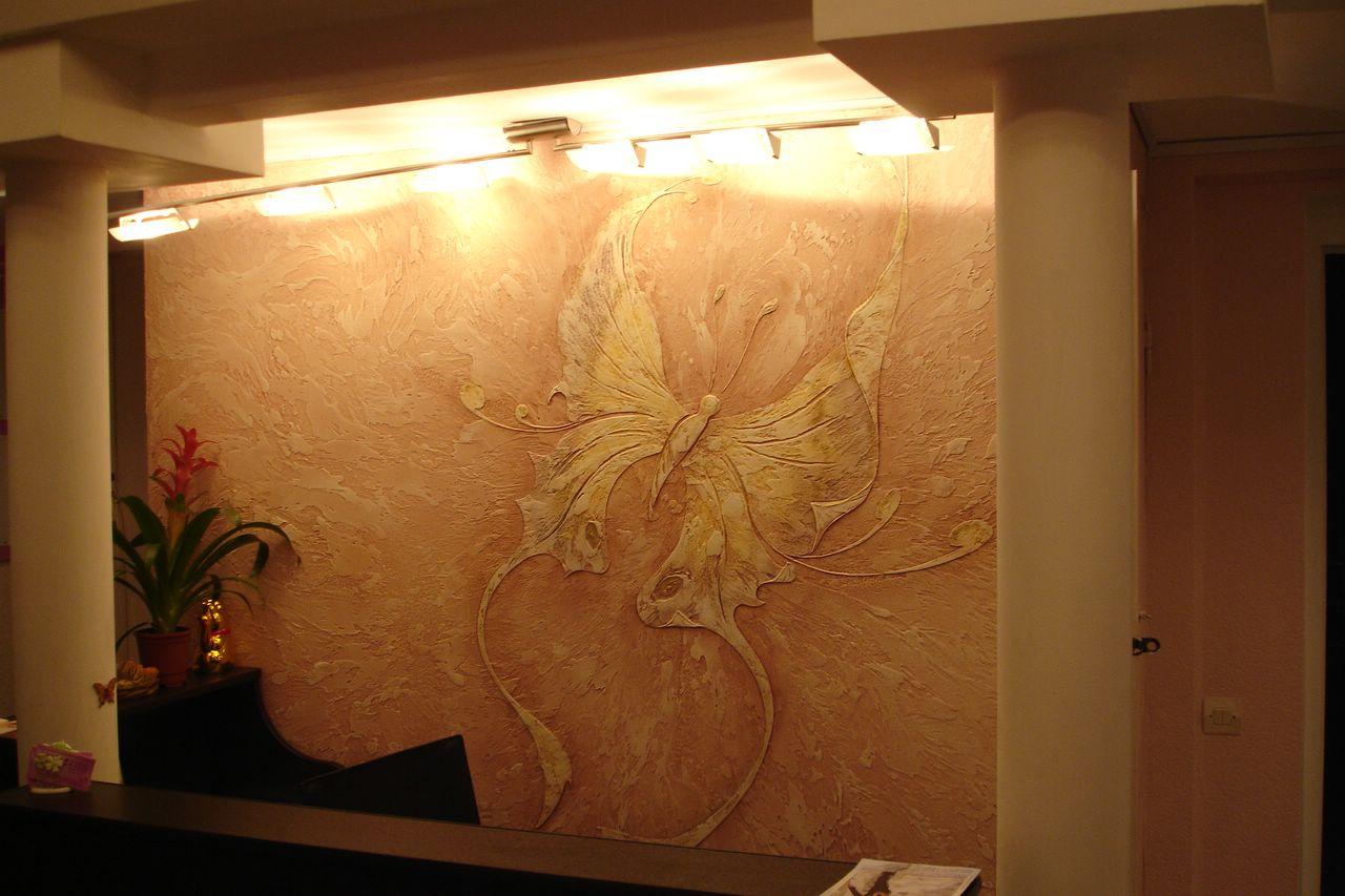 Стены штукатурка декоративная своими руками