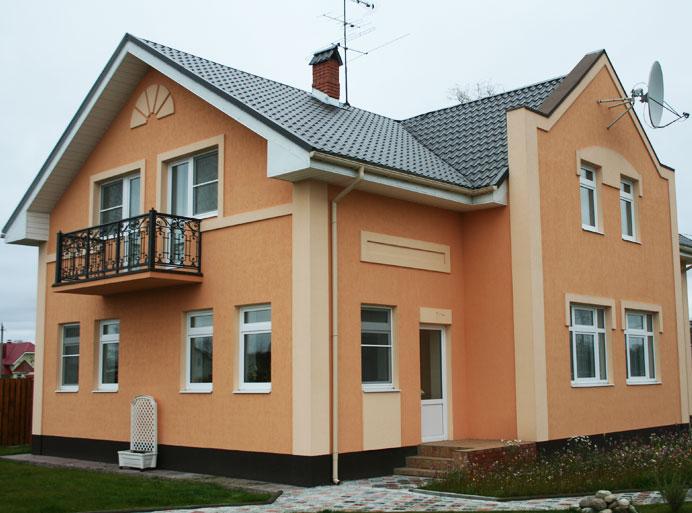 Отделка фасадов натуральным камне ценам