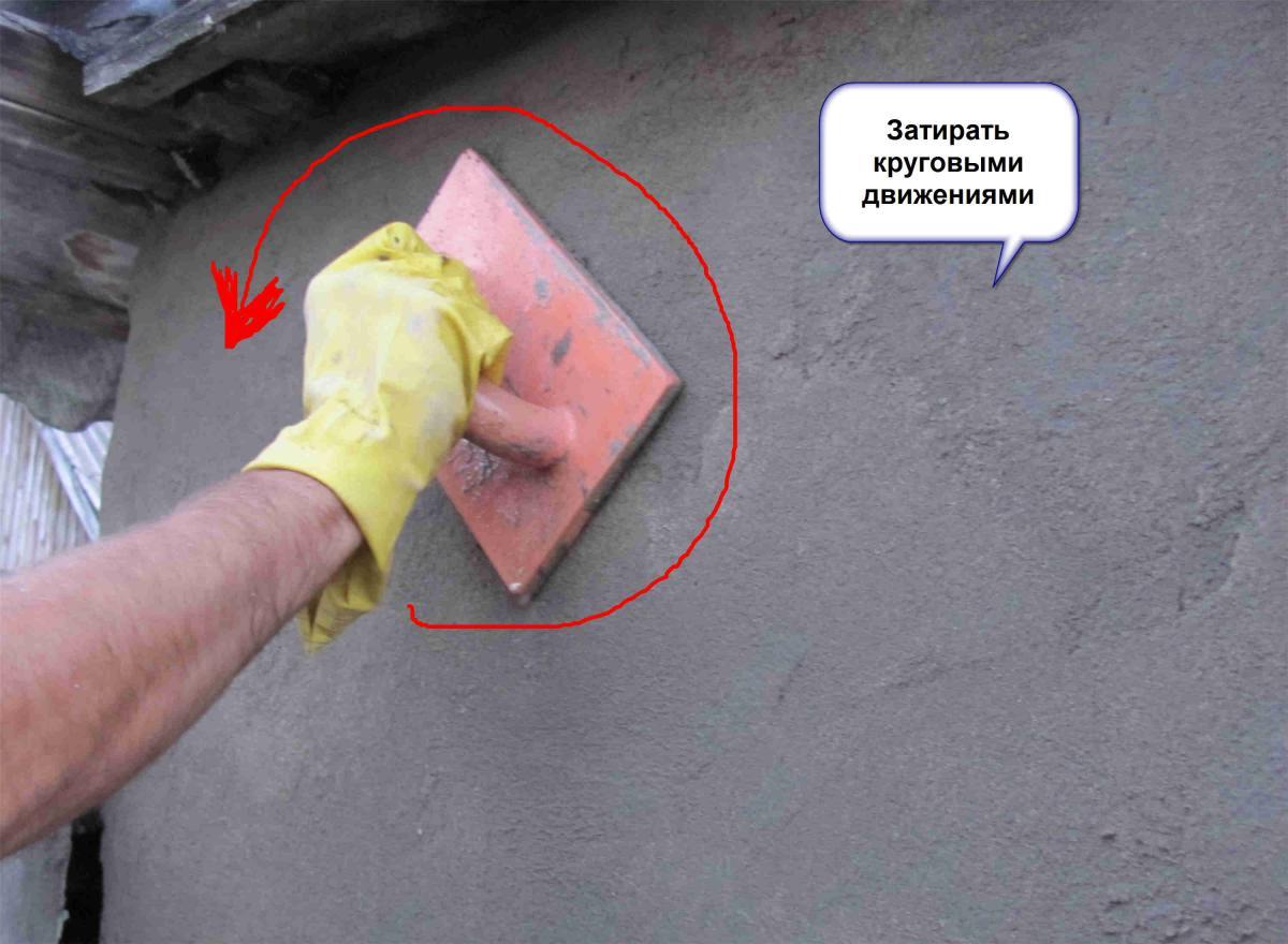 Раствор для затирки цементной штукатурки дербышки бетон